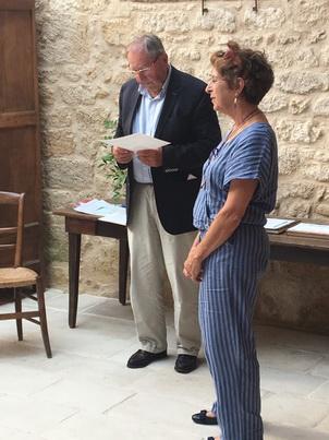 M. Patrick Boraud et Mme Sabine Pierret